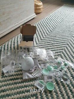 BRAND NEW Elvie Silent Wearable Single Electric Breast Pump With FREE EXTRA ITEMS