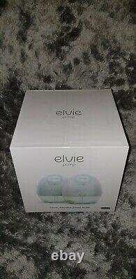 Elvie Breast Pump Double (ep01) Silent Wearable With App Brand New
