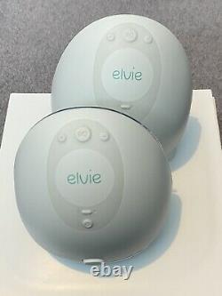 Elvie Double Electric Breast Pump Breastfeeding Newborn Baby Used Once