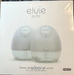 Elvie Double Electric Breast Pump Silent Wearable NEW (Open Box)