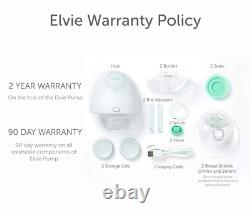 Elvie Pump Double Silent Wearable Breast Pump With App Electric Hands-Free Por