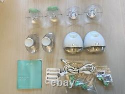 Elvie Pump Double Silent Wearable Electric Breast Pump with