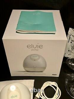 Elvie Single Electric Breast Pump + Accessories (Some Unused) + Extras GUC