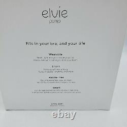 Elvie Single Electric Breast Pump Used Sterilized Tested Full Set Great Shape