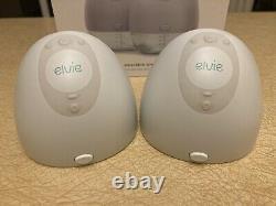 Elvie double electric breast pump set