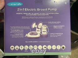 Lansinoh 53060 2 in 1 Double Electric Breast Pump
