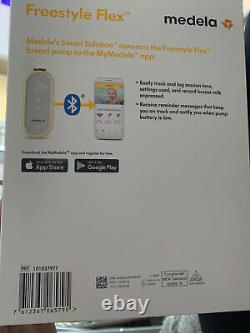 MEDELA Freestyle flex double Electric 2 Phase Breast Pump-Only Used A Few Times