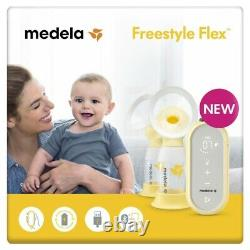 Medela Freestyle Flex Double Electric Breast Pump USB-chargeable MyMedela App