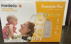 Medela Freestyle Flex Electric Breast Pump, Portable & Rechargeable Double Pump