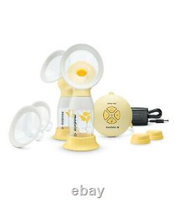 Medela Swing Maxi Electric Double Breast Portable Pump 2 Phase Expression NEW