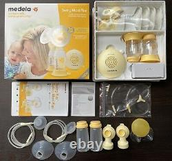 Medela Swing Maxi Flex Double Electric Beast Pump With Extras