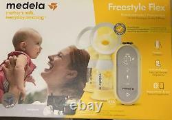 Medela elektrische Milchpumpe Freestyle Flex Stillen Muttermilch Brustpumpe