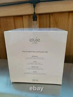 NEW Elvie EP01 Silent Wearable Double Electric Breast Pump -Factory Sealed
