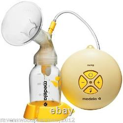 NEW Medela Swing Electric Breast Pump with Calma Bottle + Receipt for Warranty