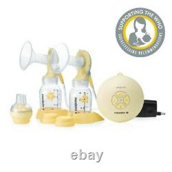 NEW Medela Swing MAXI Double Electric Breast Pump with Calma Bottle