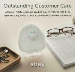New Elvie Wearable Single Electric Breast Pump Smart-Small-Silent-Hands Free