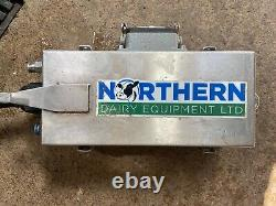 Northern dairy equipment teat scrubber x 4 with pump system with spare parts