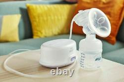 Philips Avent Single Electric Breast Pump for More Milk SCF332/01 BPA Free
