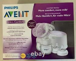 Philips Avent Ultra Comfort Double Electric Breast Pump SCF334/31 Brand New