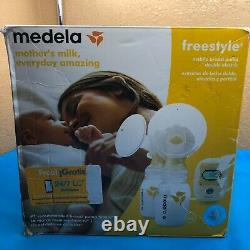SHIPS SAME DAY Medela Freestyle Mobile Breast Pump Double Electric -New