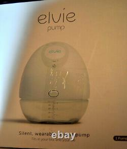 USED Elvie Wearable Single Electric Breast Pump -Smart, Small Silent, Hands Free