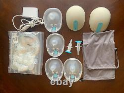 Willow Breast Pump Gen 1.0 With24mm And 27mm Flanges With31 Breast milk Bags
