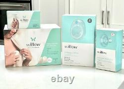 Willow Generation 3 Wearable Double Electric Breast Pump 24mm & 27mm flanges