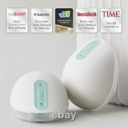 Willow Wearable Electric Breast Pump Quiet Hands-Free Portable in-Bra Double